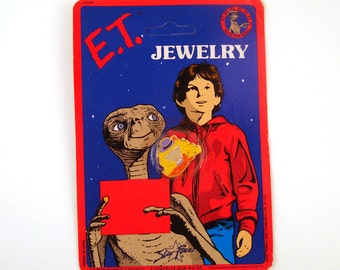 Vintage 1980s ET Pin