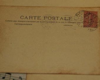 50 - Wedding Wishes - Wedding Guestbook Alternative - Vintage Post Cards Paris -  Wedding Escort or Wedding Table Placecards