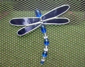 Screen Bling Critters (TM) - Blue Dragonfly