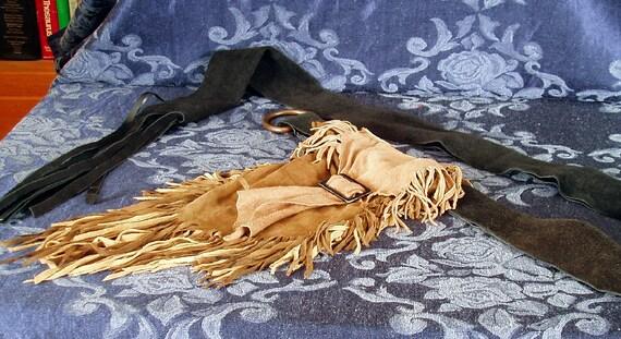 leather hip bag - belt bag