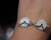 Custom Order for SlotCanyon - Gear Bracelet