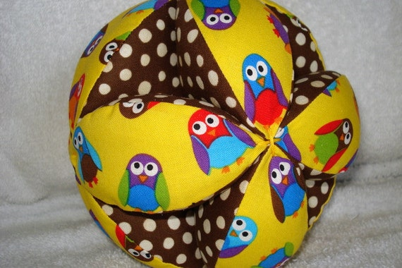 Less than Half-Price What a Hoot Owl Easy-Catch Baby/Toddler Clutch DIY Ball Kit