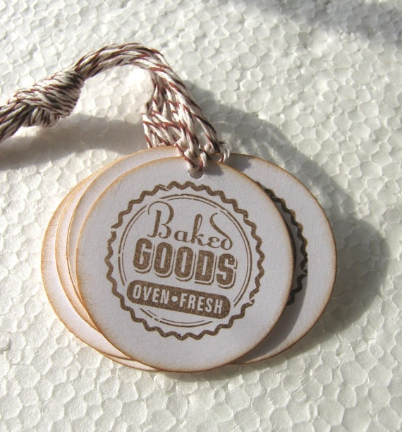 Baked Goods Tags