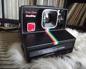 1980's Polaroid Time-Zero Onestep Camera - Film-Tested & Working