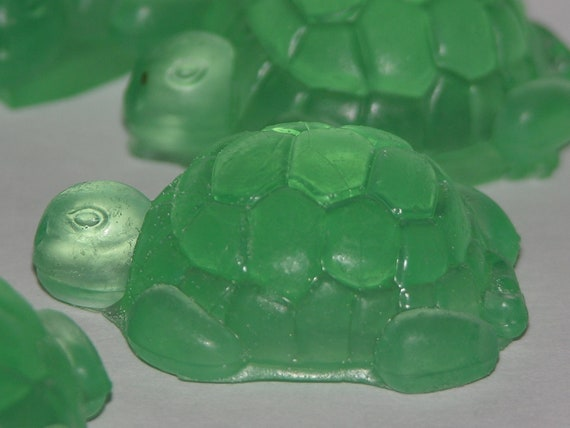 Sea Turtle Soap Set Of 9 Baby Shower Party Favors Wedding