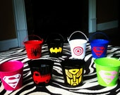 Children's Party Favor Buckets/ Treat Bag with Your Choice of Logo, Style 1