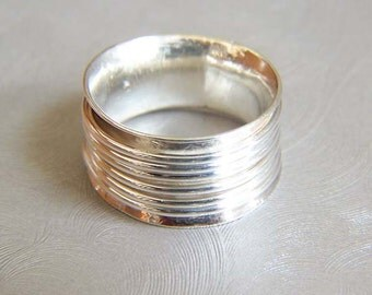 Sterling Silver Wired Ring