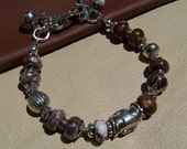 35% OFF SALE...Rare Arizona Wild Horse Handcrafted Artisan Sterling Silver Bracelet