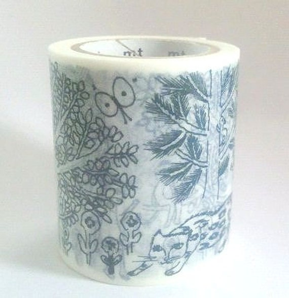 mt Washi Masking Tape - Imagine - mina perhonen - Limited Edition