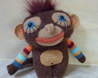 Little monkey baby