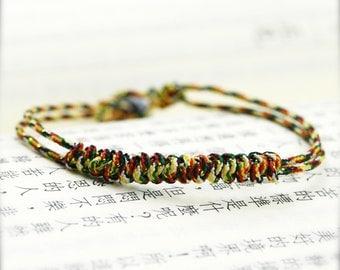 Dorje knot propitious amulet bracelet (DB)