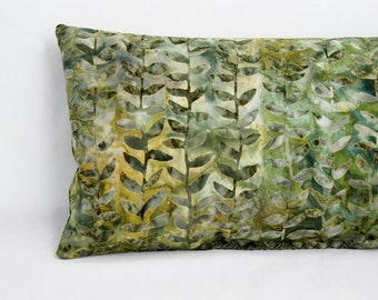 Calming Lavender Sleep Pillow - Home Spa Luxury Gift - Lush Green Botanical