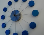 PEARL BLUE Wall Clock