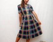 50's shirt dress
