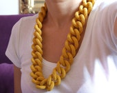 Curb Chain Crochet Necklace/Jewellery Pattern