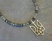RESERVED for Viktor: Custom Redesign & Lengthen Hematite Necklace