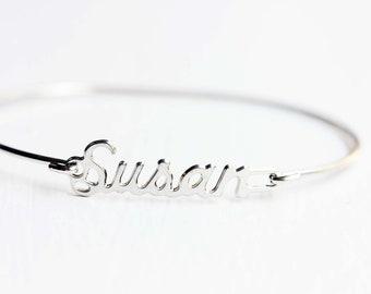 Vintage Name Bracelet - Susan
