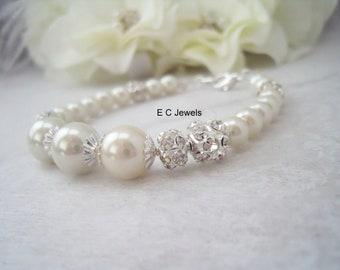 Pearl Bridal Bracelet Bracelet