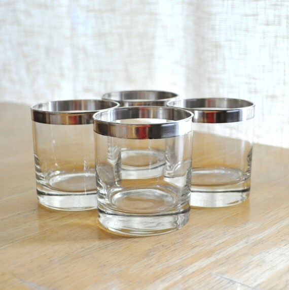 dorothy thorpe silver band old fashioned glasses