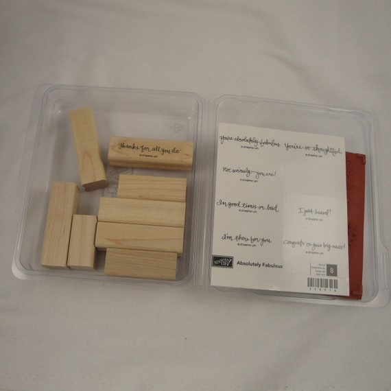 Absolutely Fabulous Stampin' Up retired stamp set