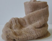 Newborn Photography Wrap - Baby Boy or Baby Girl - Cheesecloth Wrap - Maternity Photo Wrap - Photography Prop - TAUPE/TAN