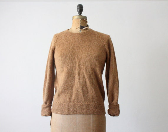 1960's alpaca slouchy sweater