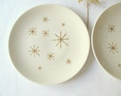 RESERVED FOR KWIN-  Two Star Glow China Dinner Plates