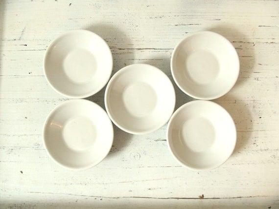 Five Vintage Ironstone Bowls