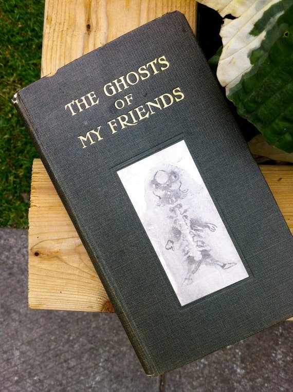 The Ghosts of my Friends book filled with beautiful Ghosts.