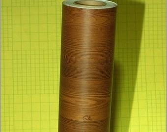 Decorative Contact Paper Dark Mahogony Grain 50cm X 2m Fr2141