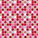 Michael Miller Christmas Fabric Peppermint Dot in Pink