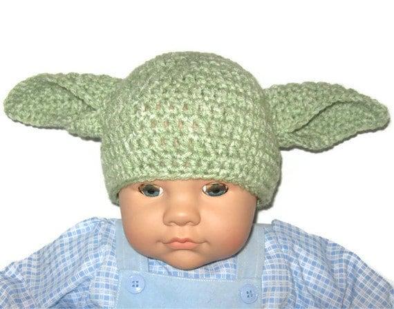 Free Crochet Patterns Yoda Hat Traitoro For