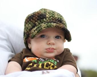 Crocheted Newsboy Hat, Newborn Newsboy Hat, Baby Newsboy Hat, Newsboy Hat, Baby Hat