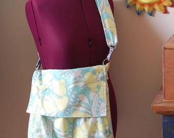 Amy Butler Messenger or Backpack Styled Tote Summer Sale