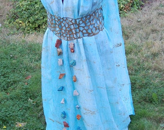 Game of Thrones Themed Princess Daenerys Targaryens Dress Costume Size Medium Ready to Wear Sale