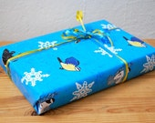 Winter Birds Gift Wrap 3 Large Sheets