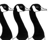 Geese Print
