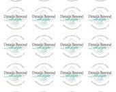 """2"""" Round Sticker Labels - Sheet of 20 - Customizable"""