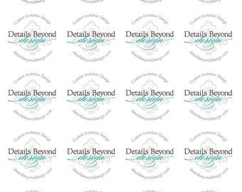 "2"" Round Sticker Labels - Sheet of 20 - Customizable"
