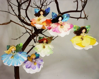 Angel Tree Ornament, Christmas Tree Angel Doll, Fairy Ornaments Angel Decoration, Angel Decor, Christmas Angel