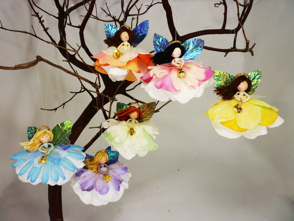 Angel Tree Ornament Christmas Tree Angel Doll Fairy