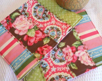 Quilted Mug Mats...Set of Two