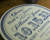 100 Letterpress Coasters