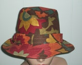 Fedora in Dazzling Fall Colors