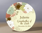 Bridesmaid Gift | Personalized Pocket Mirror | Grandmother of the Bride Gift | Flower Girl Gift | Maid of Honor Gift | Bridal Shower Favor