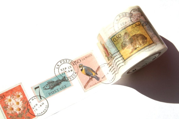 MT Washi Masking Tape -  Postage Stamp (mt ex)