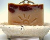 Indian Sandalwood Soap / Natural Handmade Soap / Cold Process Soap