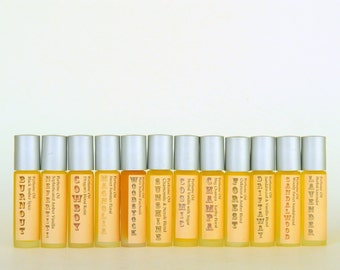 Mystic Perfume Oil /  Spicy Amber Roll on Fragrance Oil / Pocket or Purse Scent
