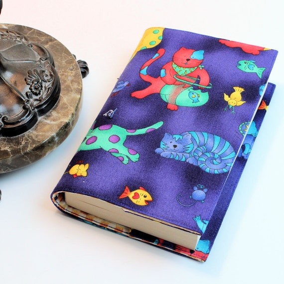 Cats Fabric Paperback Book Cover - Mass Market Size