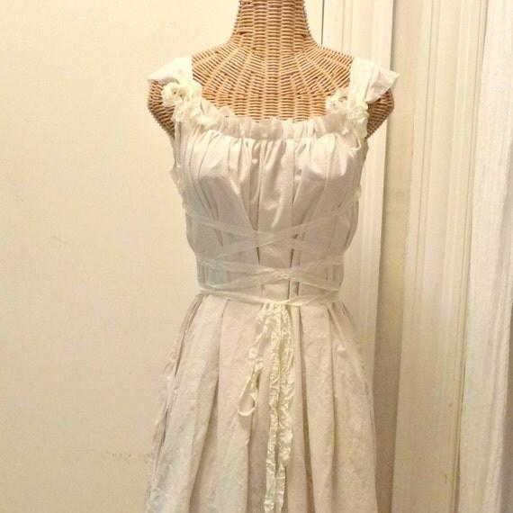 Renaissance Festival Wedding Dresses: Shield Maiden Dress Viking Renaissance Medieval Corset Short